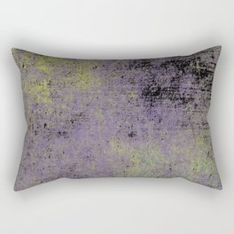 Darkened Sky - Textured, abstract painting Rectangular Pillow