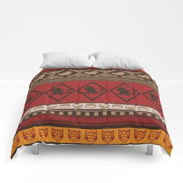 Poke Tribe (Southwest) Comforters