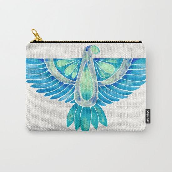 Parrot – Blue Ombré Carry-All Pouch