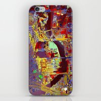 hotline miami iPhone & iPod Skins featuring miami by donphil