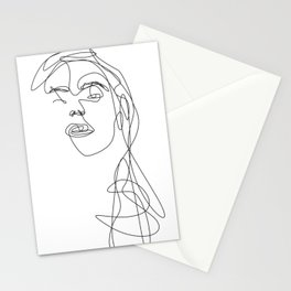 Modern Picasso by Sher Rhie Stationery Cards
