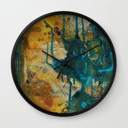 The Canyon Series (Piece 1) Wall Clock