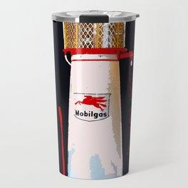 Mobil Gas Vintage Pump Travel Mug