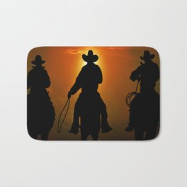 Riders To The West Bath Mat