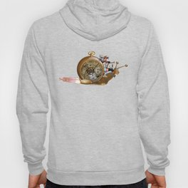 S6 Tee: Slowpoke The S6 Steampunk Snail Hoody
