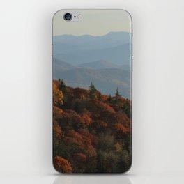 Blue Ridge Mountains iPhone Skin