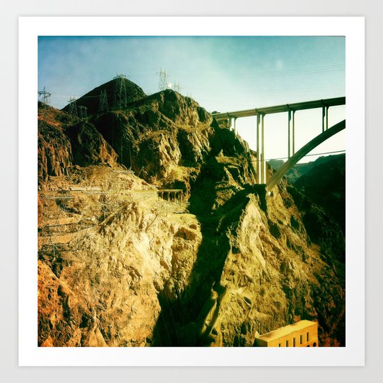 Colorado River Art Print