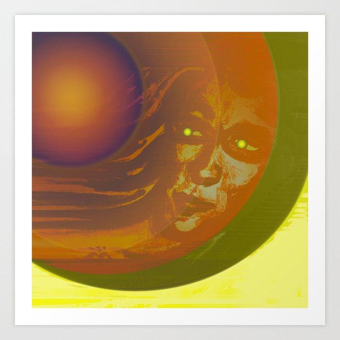 Cosmic Boy - Meteor II / 05-02-17 Art Print