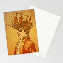 The Pirate's Head Stationery Cards