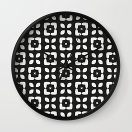 MARTA BLACK Wall Clock
