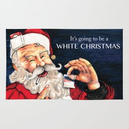 Rude Christmas. Adult Humour Rug