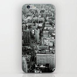 NEW YORK CITY # Black&White iPhone Skin
