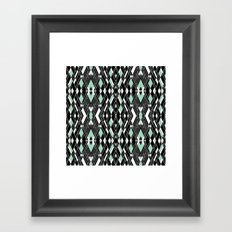 Art Deco Mint Framed Art Print