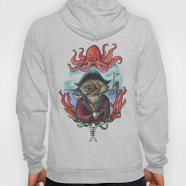 Captain Barnacles The Cat Hoody