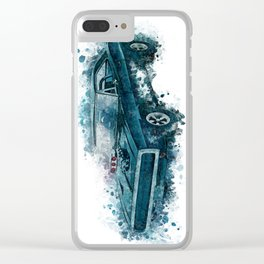 1970 Dodge Charger Clear iPhone Case