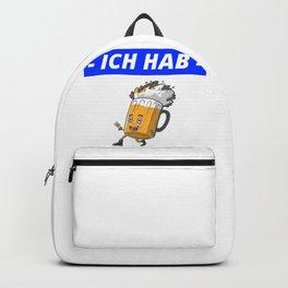 Lustiges Bier Hier Motiv - Biere Weizen Halbe Pils Backpack