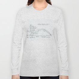 Go Drawing, Transitions through Triathlon Long Sleeve T-shirt