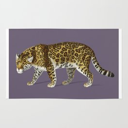 Fierce Jaguar Rug
