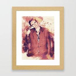 Tarantino Splashes Framed Art Print