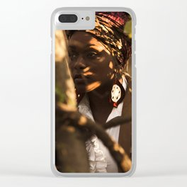 Camouflage Thursday Clear iPhone Case
