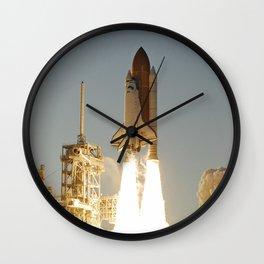 Space Shuttle Atlantis Wall Clock