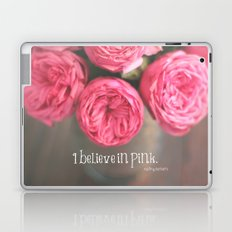 i believe in pink.  Laptop & iPad Skin