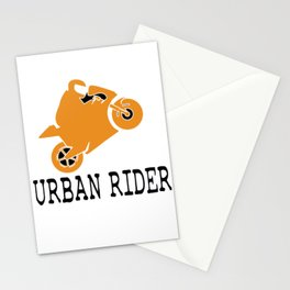 The Awesome & Cool Rider Tshirt URBAN RIDER Stationery Cards