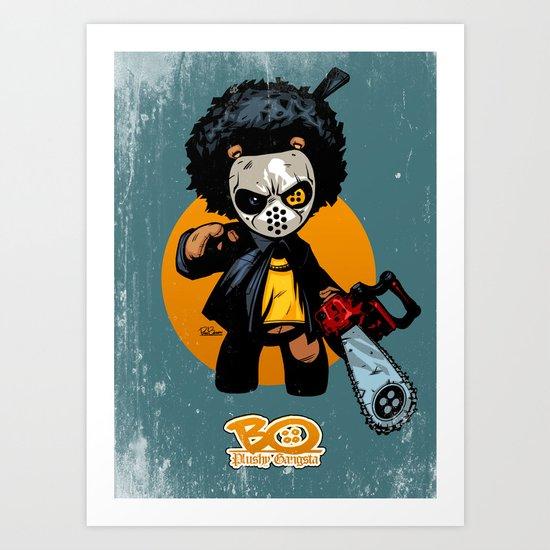 "Bo: Plushy Gangsta ""Friday"" Art Print"