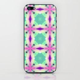 Geometric mandala iPhone Skin