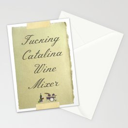 Catalina Wine Mixer Stationery Cards