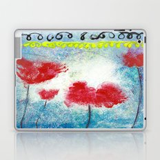 REMEMBER THE POPPIES Laptop & iPad Skin