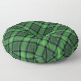 Green Scottish Fabric Floor Pillow