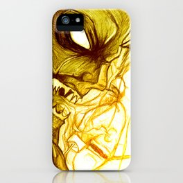 Fear - 001 iPhone Case