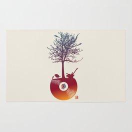 Vinyl Tree 2 Rug