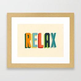Relax Gerahmter Kunstdruck