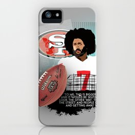 Colin Kaepernick iPhone Case