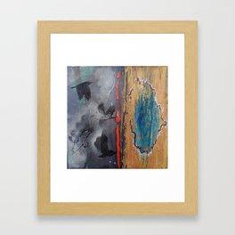 Raven Skies Framed Art Print