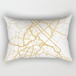 VIENNA AUSTRIA CITY STREET MAP ART Rectangular Pillow