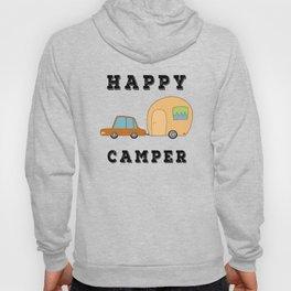 Happy Camper Camping Vacation Hoody