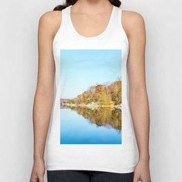 Fall Reflections Unisex Tank Top