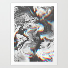 D IS FOR Art Print