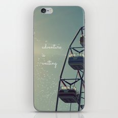 Adventure is Waiting iPhone & iPod Skin