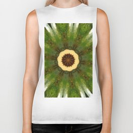Fairy Ring Kaleidoscope Biker Tank