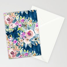 SO LUSCIOUS - NAVY Stationery Cards