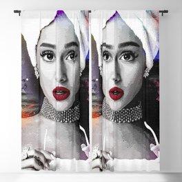 Ariana Grand Singing Blackout Curtain