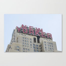 The New Yorker Building Canvas Print