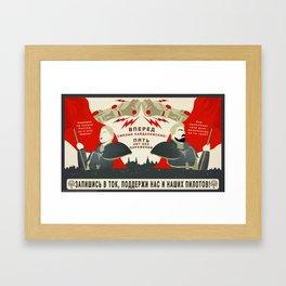 Pacific Rim: Cherno Alpha and Kaidanovsky Propaganda Framed Art Print