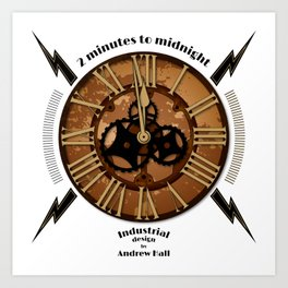 2 Minutes to Midnight Art Print