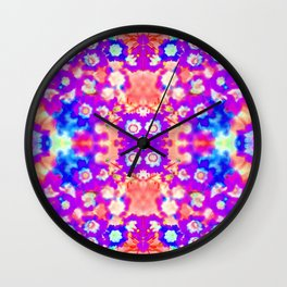 Peach Sherbet Wall Clock