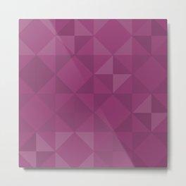 Mostest Tile Pattern Metal Print